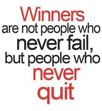 Winners Never Quit Motivational Quotes Sport Quotes Flirting Quotes