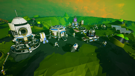 Astroneer A Game of Aerospace Industry and