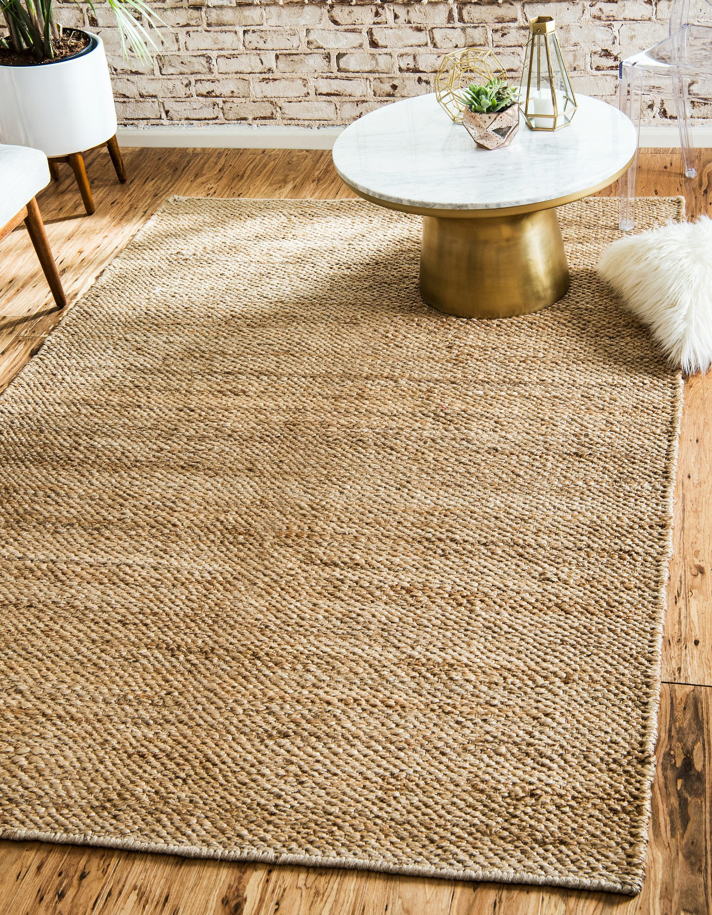 for idea ivory awesome photo decor jute nice interior room living rug of chunky braided x minimalist your