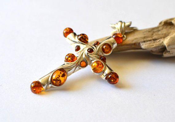 Amber cross necklace amber pendant cross silver amber necklace amber cross necklace amber pendant cross silver amber necklace amber jewelry big amber cross pendant necklace mozeypictures Gallery