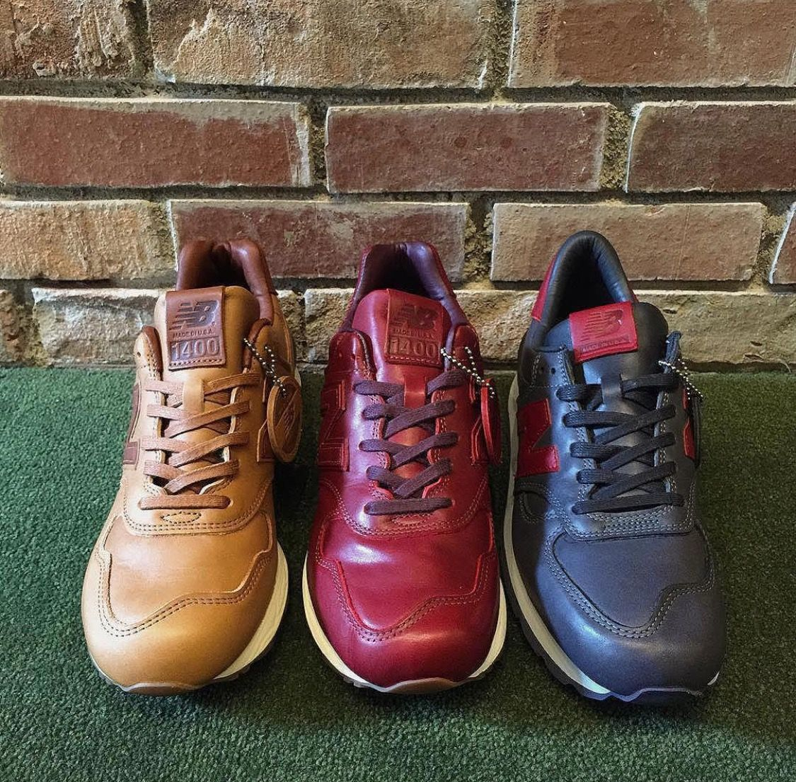 reputable site eaf2e 56d12 New Balance 1400 & 990 made from horween leather in the USA ...
