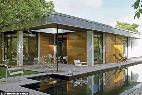 Une belle terrasse pour profiter de la vie Architecture
