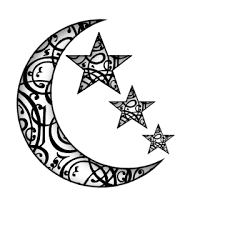 Image result for moon & stars tattoos