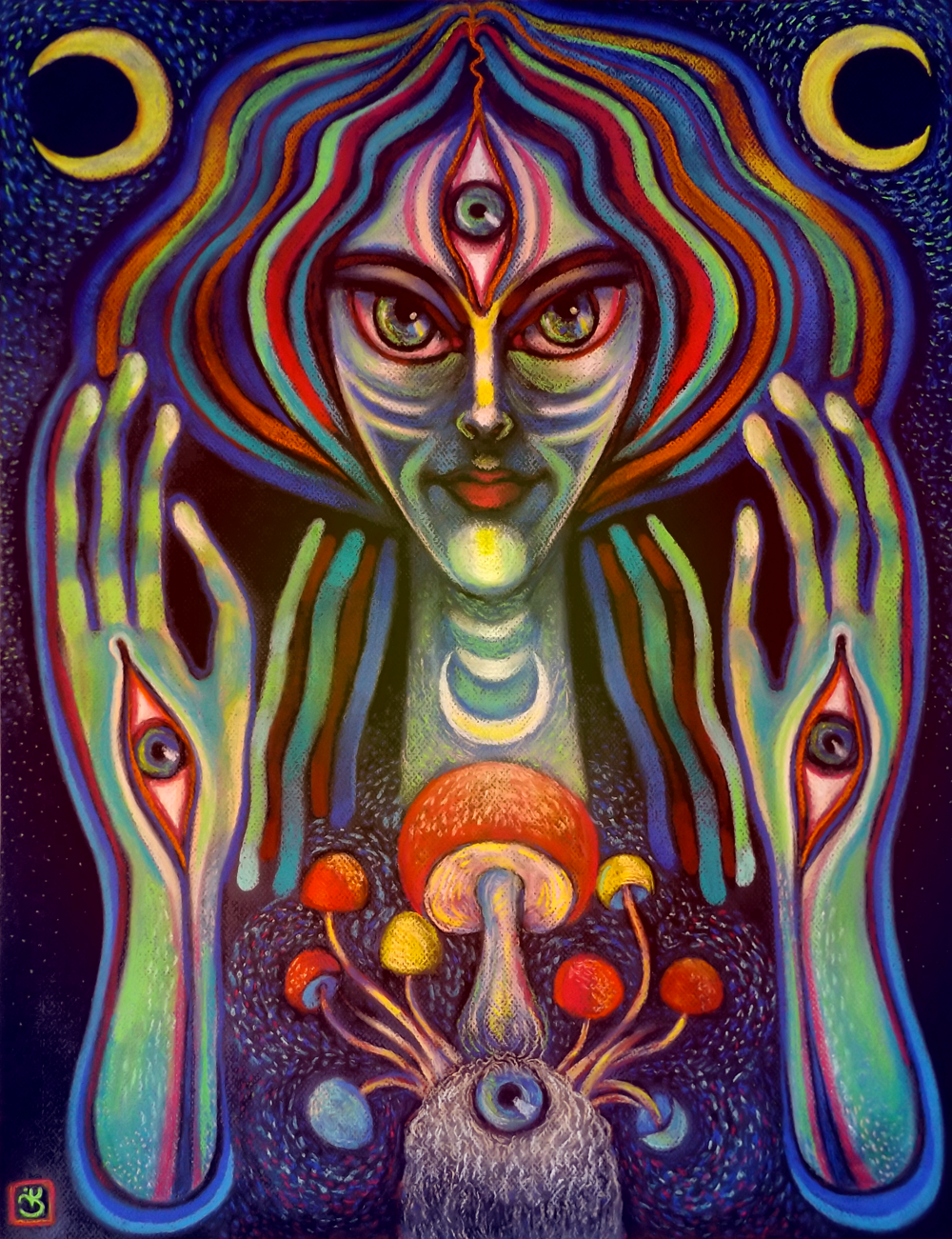 art aliens psychedelic - photo #3