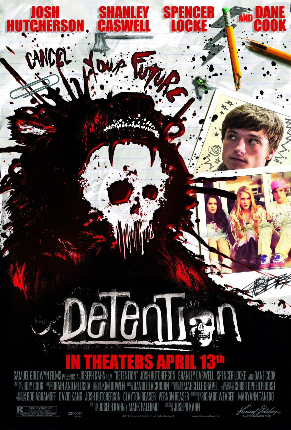 Now Playing Detention (2012) Horror movies, Movies