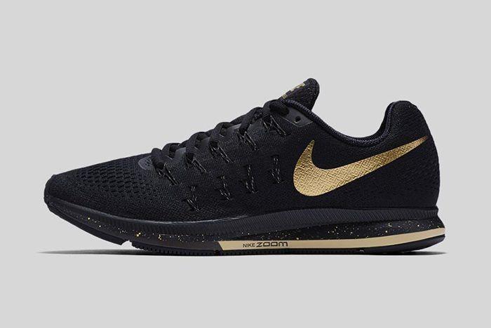 big sale 49fb8 0d85b Nike Running Black   Gold Pack
