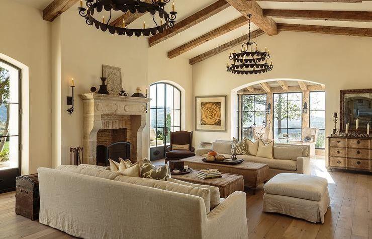 50+ Modern Mediterranean Interior Ideas for Living Room | Bathroom ...