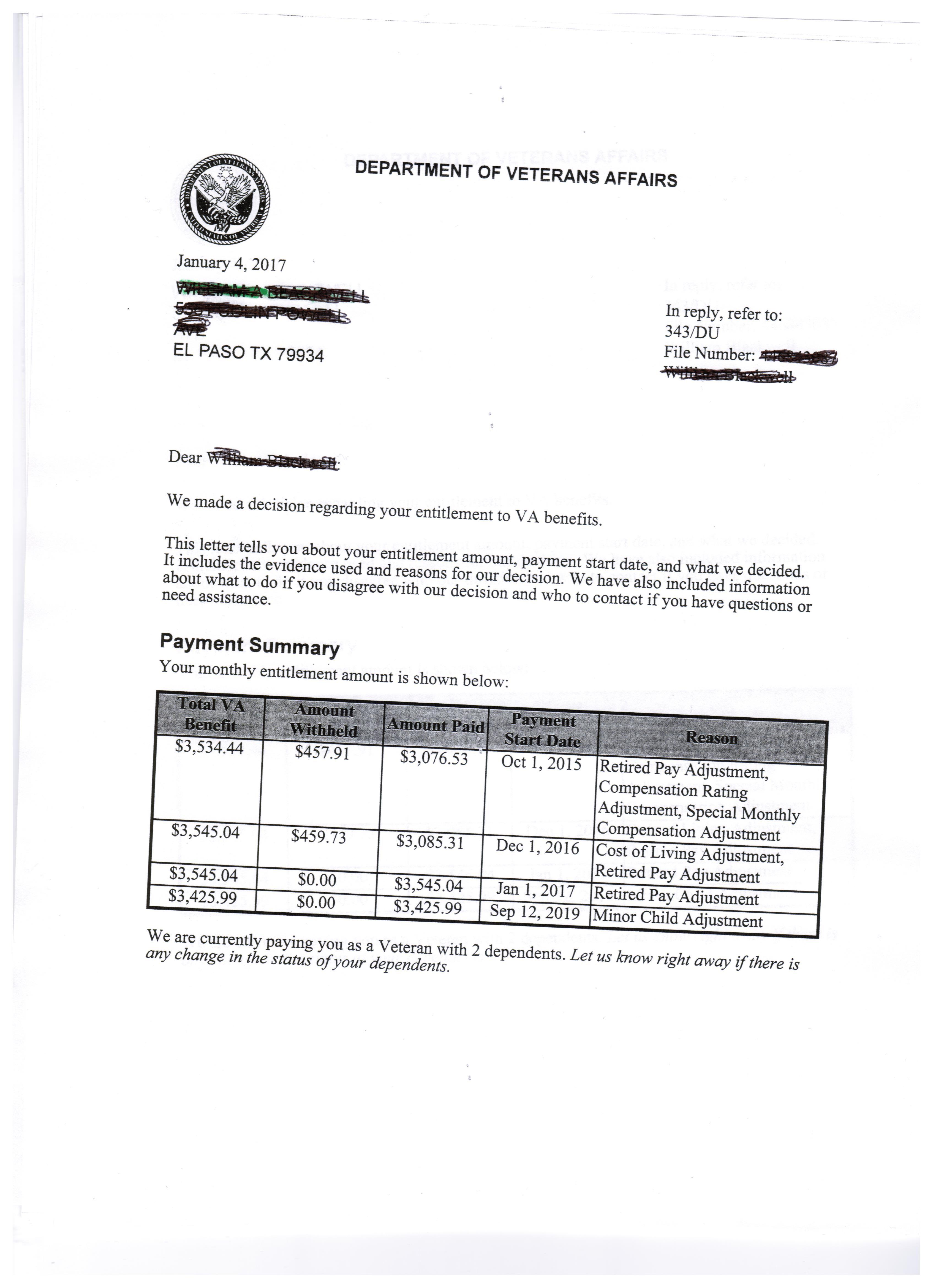 va benefits award letter | mamiihondenk org