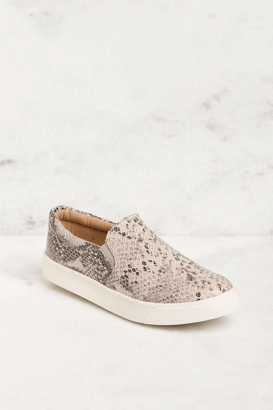 The Glen #Snakeskin Slip-On Sneakers