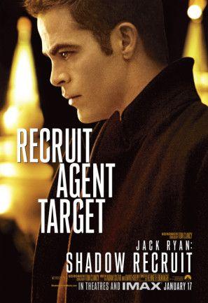 Jack Ryan Shadow Recruit Poster Chris Pine Filmes E Cartaz