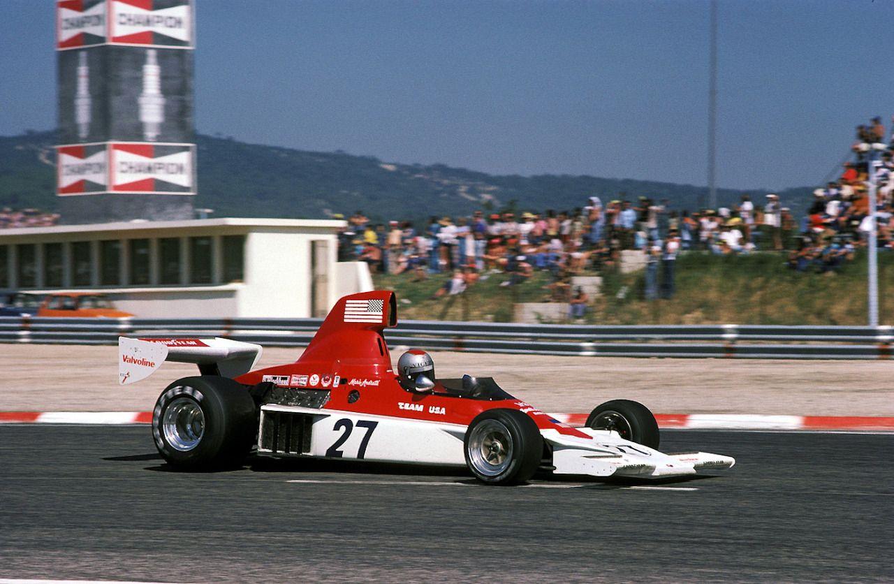 Mario Andretti, ParnelliFord VPJ4, 1975 French GP, Le