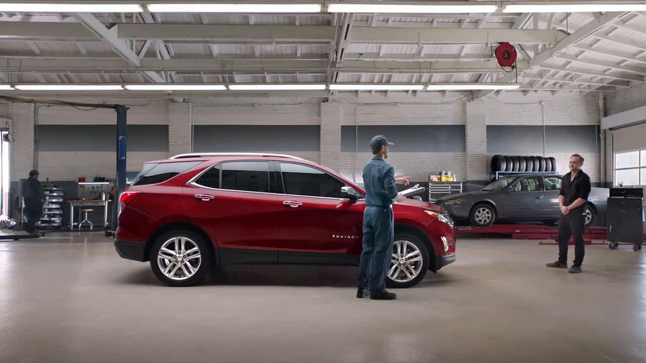 Chevrolet 2018 Chevy Equinox Collision Shop Chevy Ad