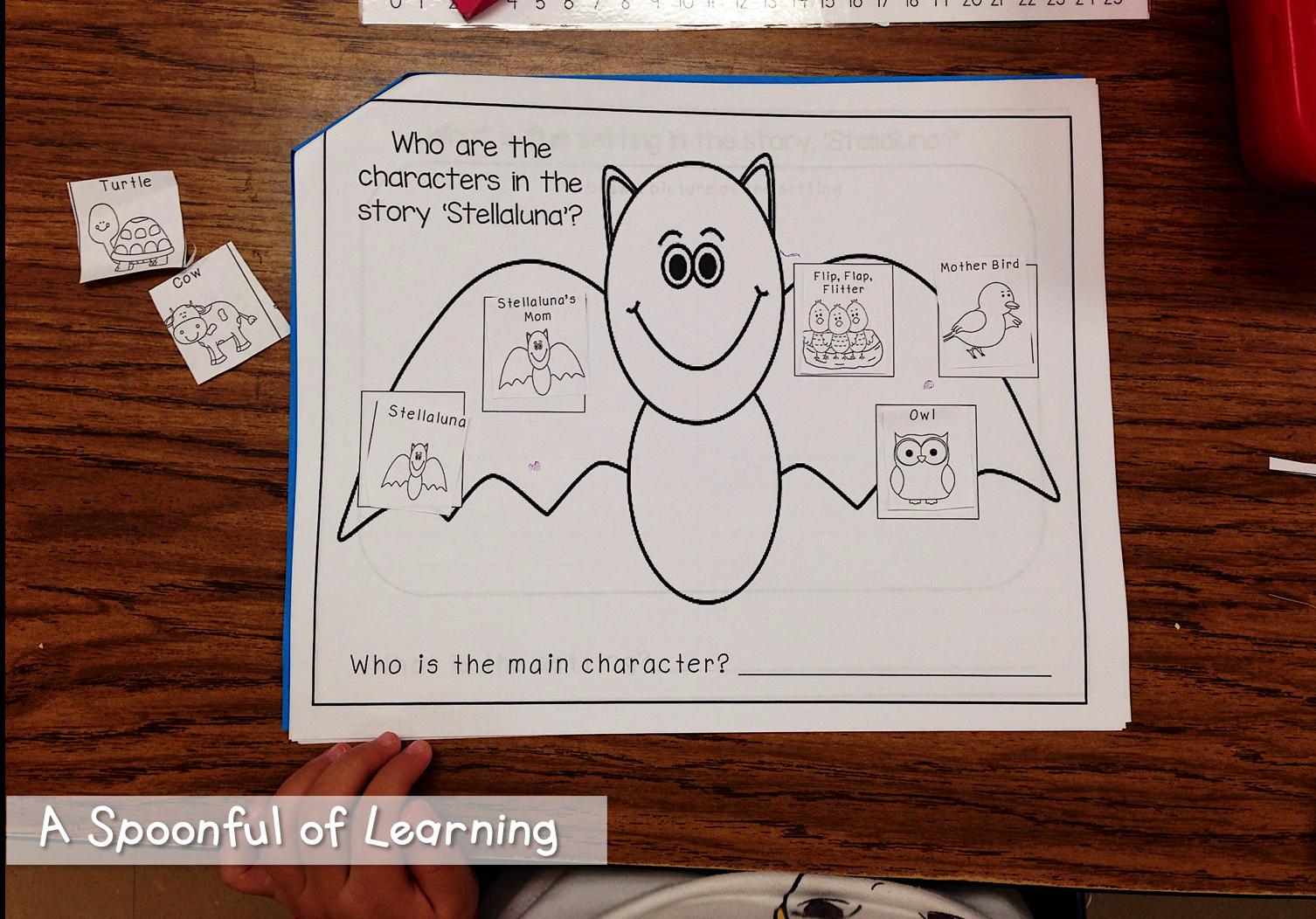 Bats Part 2 And Halloween Fun Stellaluna Activities Stellaluna Fall Kindergarten [ 1052 x 1506 Pixel ]