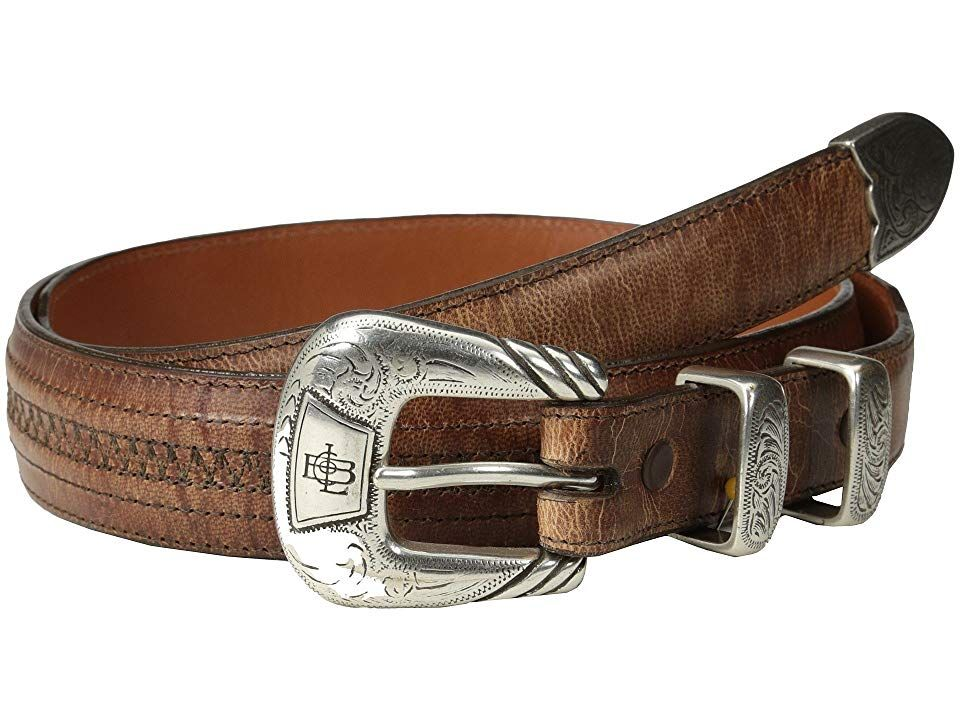 Lucchese W2242H (Tan Mad Dog Goat) Men's Belts. Click The