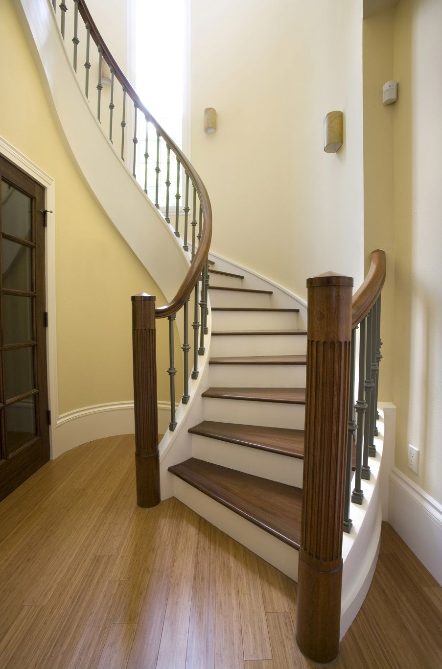 Non slip paint for stairs - Non Slip Traction For Slippery Stairs Wood Bamboo Tile Laminate