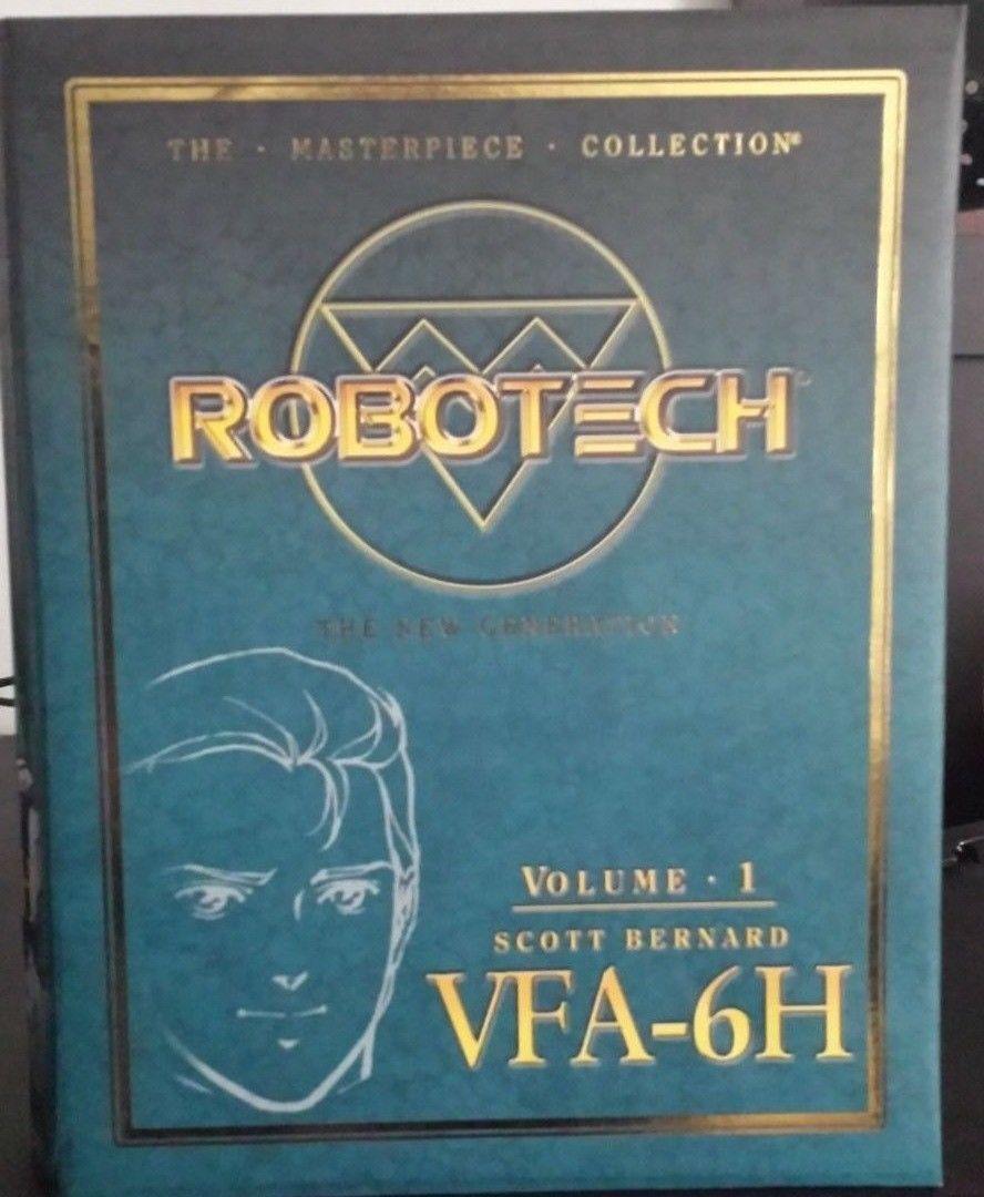 ROBOTECH Toynami VFA-6H Scott Bernard MIB