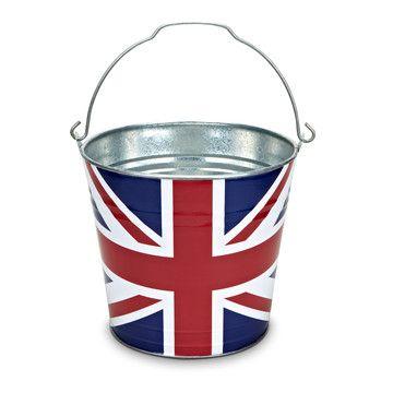 Union Jack Bucket
