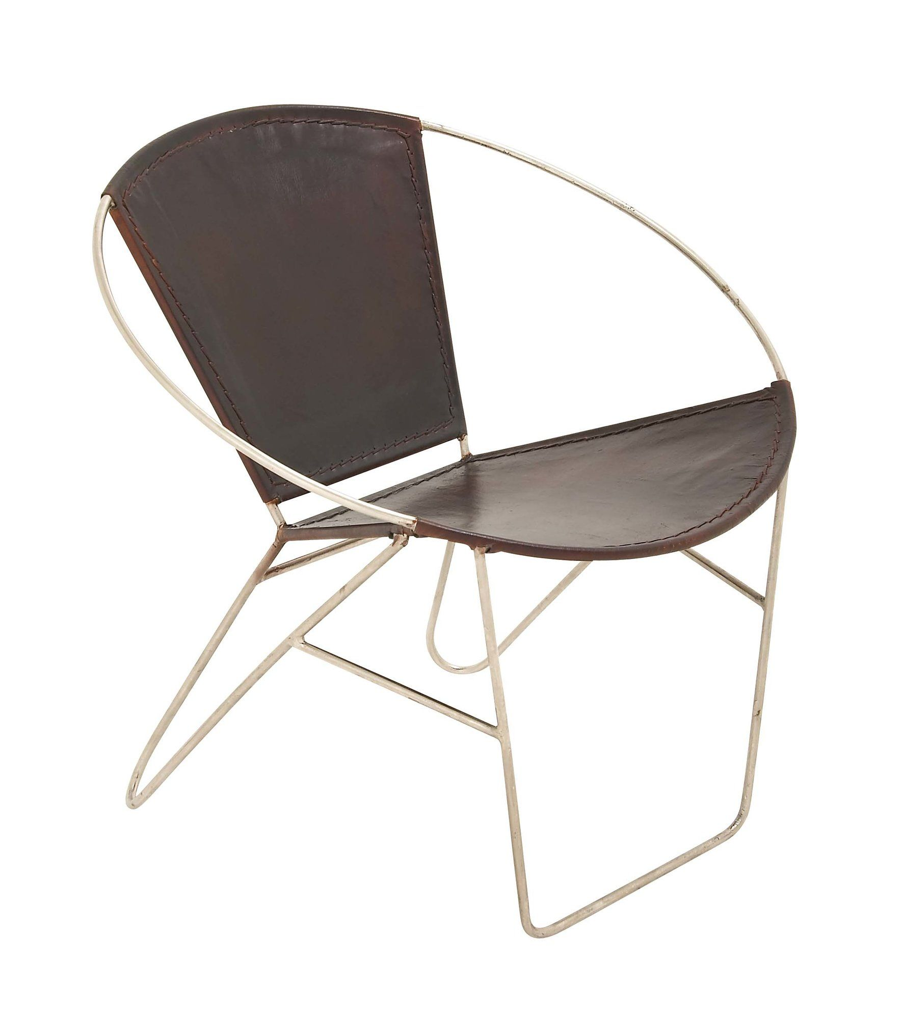 Metal Real Leather Papasan Chair | Products | Pinterest | Papasan ...