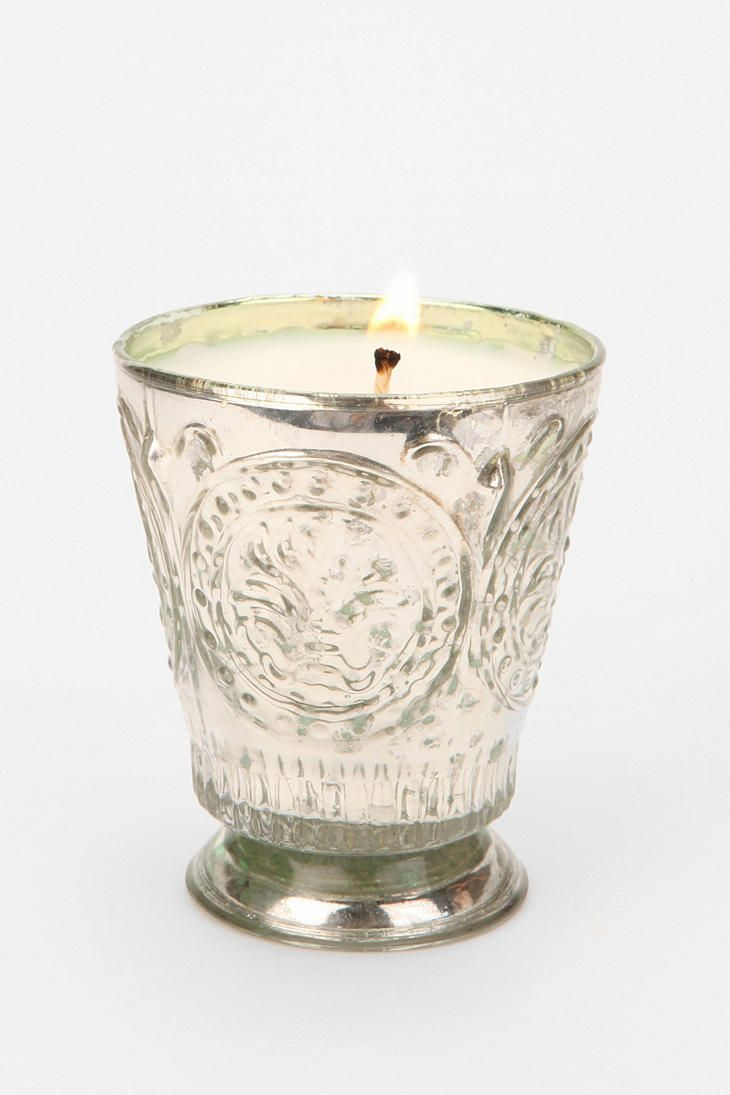 Himalayan Fleur De Lys Candle in Bourbon Vanilla  $18.00 @ urbanoutfitters.com  (Another wonderful smelling candle...)