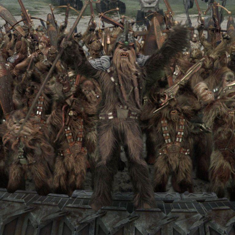 Wookiee Revenge Of The Sith Star Wars Species Star Wars Canon Clone Wars Art
