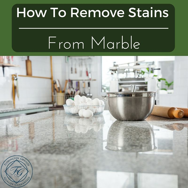 How To Remove Stains From Marble
