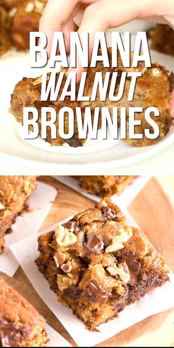 Banana Walnut Brownies images