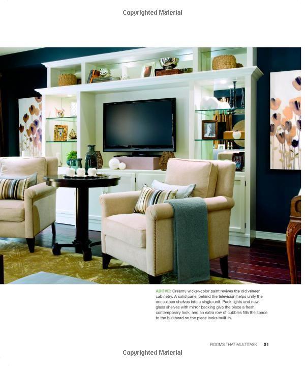 Candice Olson Basement Design: Family Room Walls, Interior