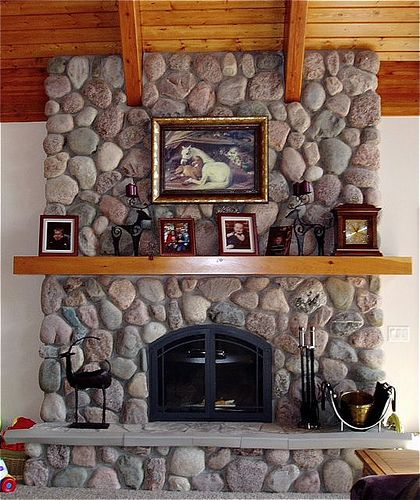 Images Of Fieldstone Fireplaces - Google Search
