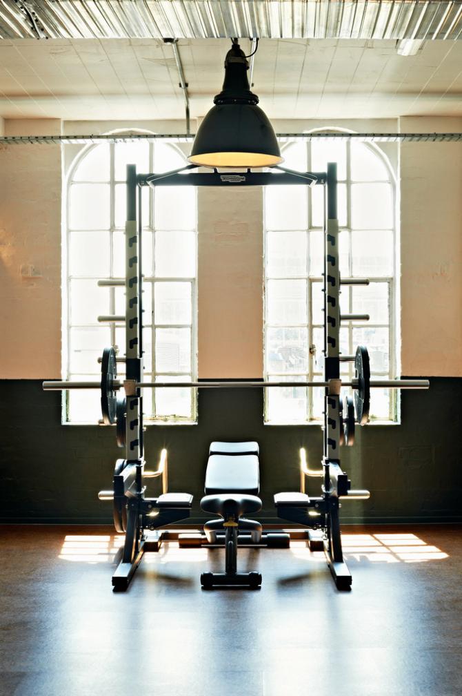 Soho House Shoreditch: Gym Interior, Shoreditch House