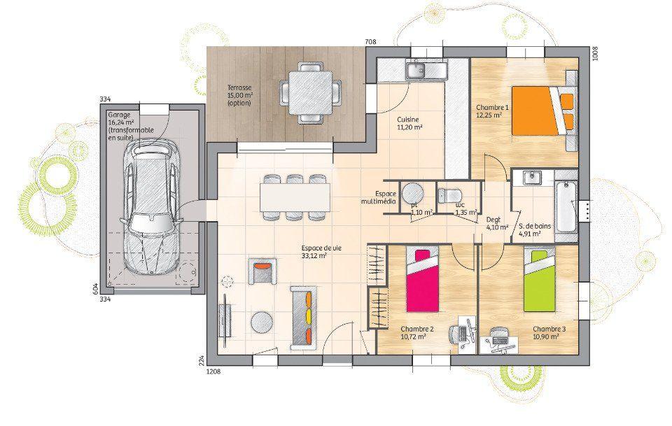 Plan achat maison neuve à construire - Maisons Open Open Sud PPL