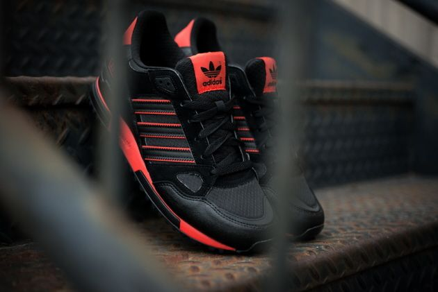 adidas Originals ZX 750 – Black Red | Adidas schuhe