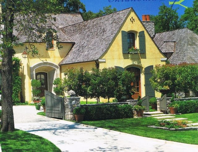 The French Tangerine: ~ my jack arnold home | Home Exteriors