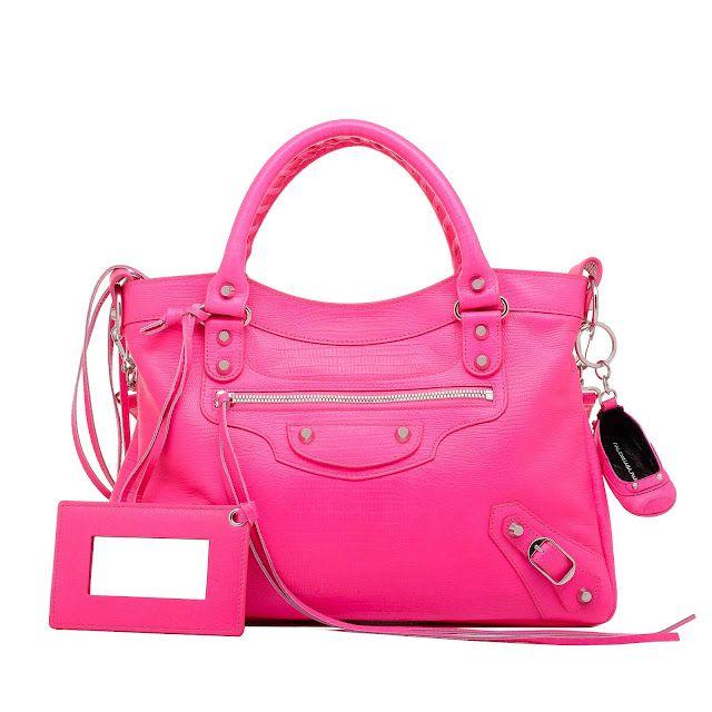 Balenciaga Now That S A Pink Bag