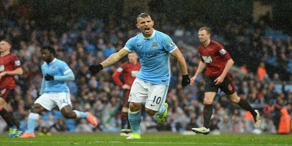 Cuplikan Gol Manchester City 2-1 West Bromwich (Liga Inggris)