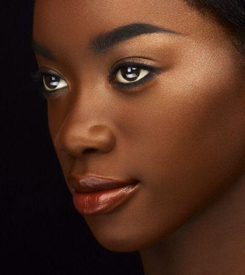 Dark skinned women are beautiful
