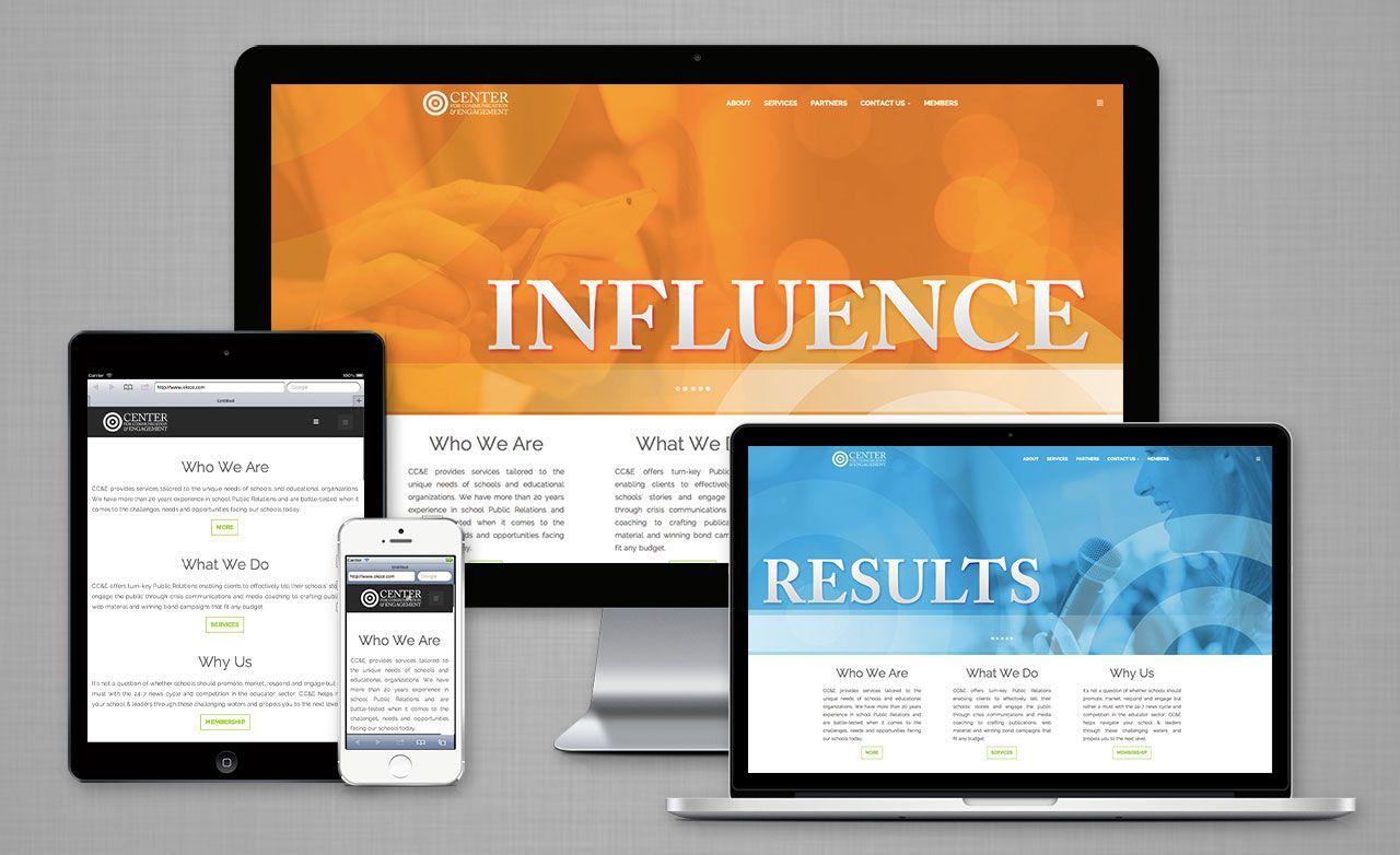 Center For Communication Engagement Web Design Marketing Creative Design Agency Branding Design