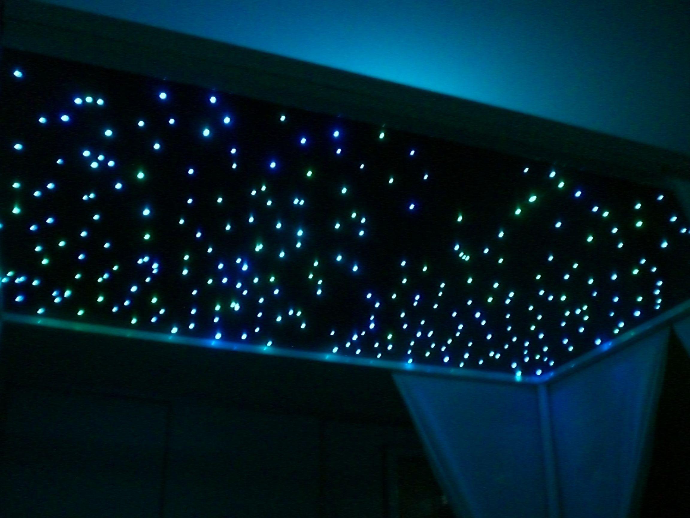 Bauanleitung LED-Sternenhimmel | Fehlst mir, Himmelbett und Deckenlampen