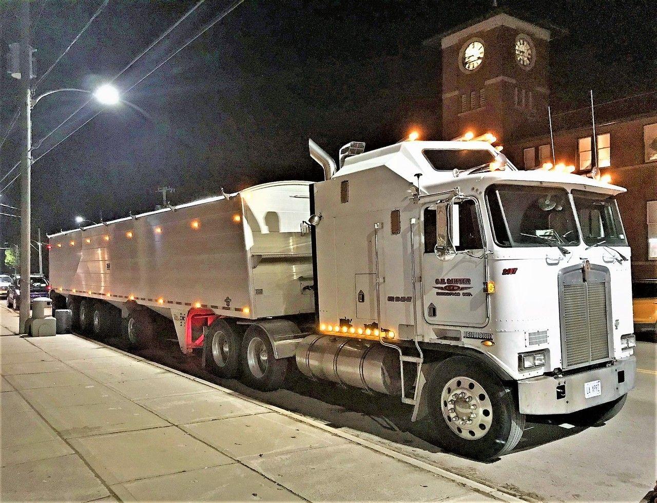 Kenworth aerodyne coe trucks big trucks custom truck beds