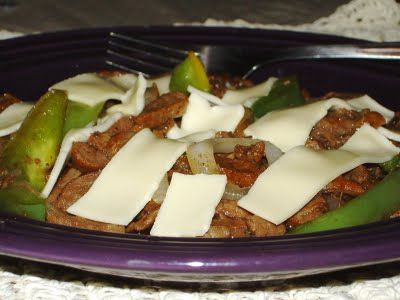 24/7 Low Carb Diner: Philly Steak Supper