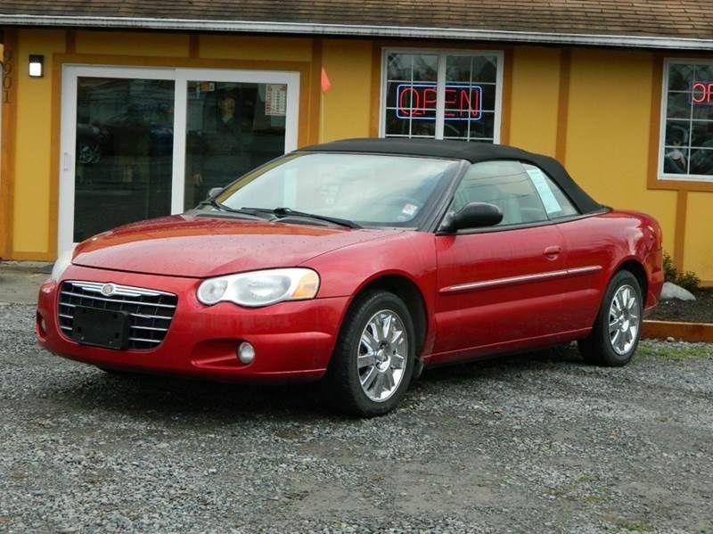 2004 Chrysler Sebring Limited Convertible 5 997 Chrysler