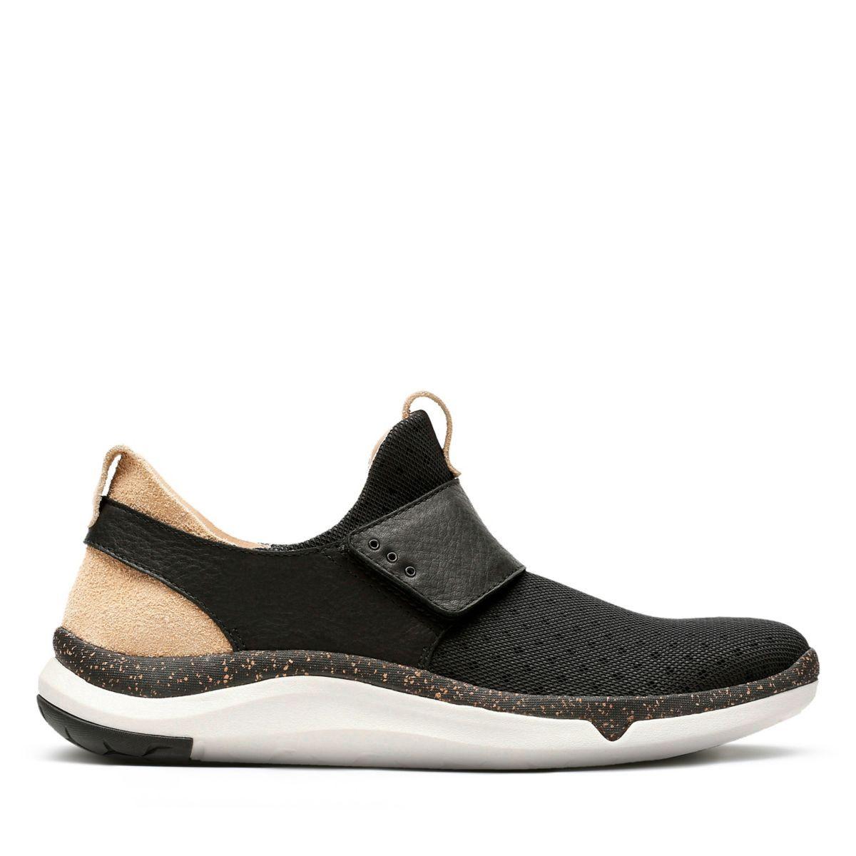 44eab6b9c8e6 Clarks Privo Flux - Mens Sport Shoes Black 10.5