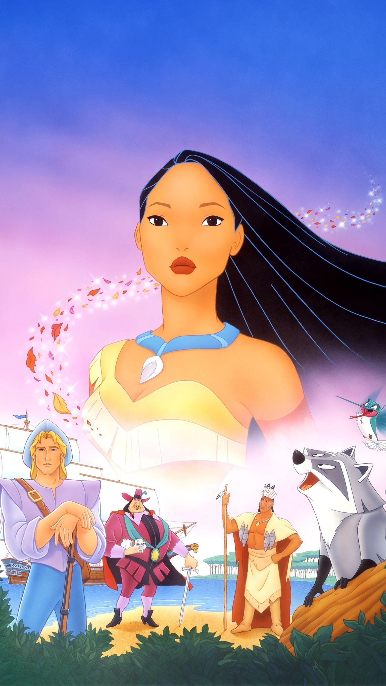 Pocahontas 1995 Phone Wallpaper Moviemania Cute Disney Pictures Disney Princess Art Disney Pocahontas
