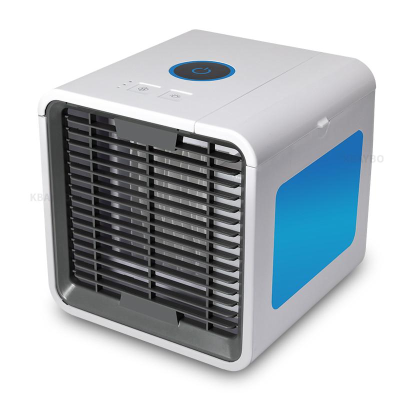 Kbaybo Usb Mini Air Conditioner Portable Air Cooler Fan Summer Personal Space Desk Fans Cooler Devi Portable Air Cooler Air Cooler Fan Portable Air Conditioner