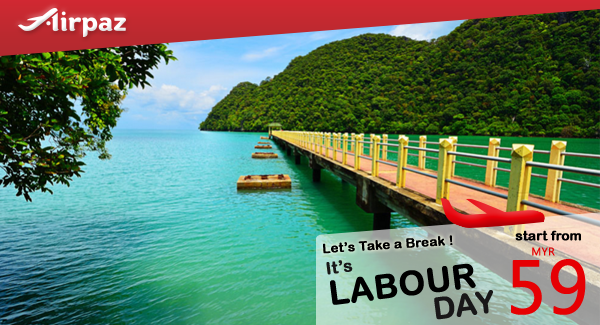 It's Labour Day ! Let's take a break take direct flight to where you want, of course with the cheapest flight ticket on Airpaz Book Now !  #Cheapflights #Promo #MalindoAir #Airpaz #Travel #Malaysia #Backpacker #Backpacking #Trip #Holiday #Vacation #LabourDay #Traveling