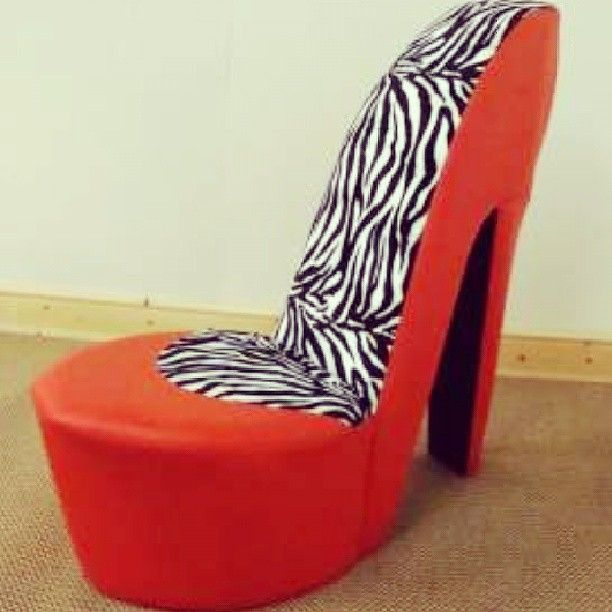 Sit Comfortably In These High Heeled Stiletto Shoe Chairs Shoe