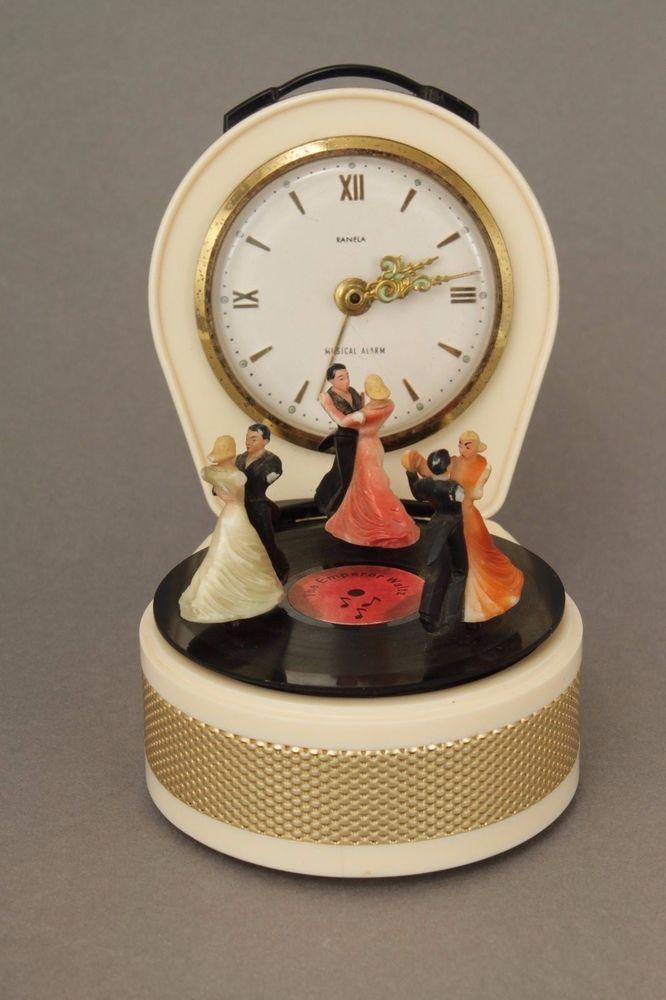 Working Novelty Vintage Ranela 30 Hour Musical Automaton