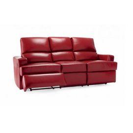 Sears Ca Whole Home 174 Md Brando Reclining Leather Sofa
