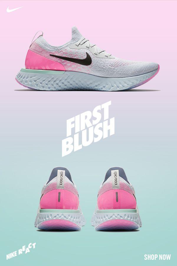 d7ed2d4e381ec Go with the glow in the all-new Nike Epic React First Blush ...