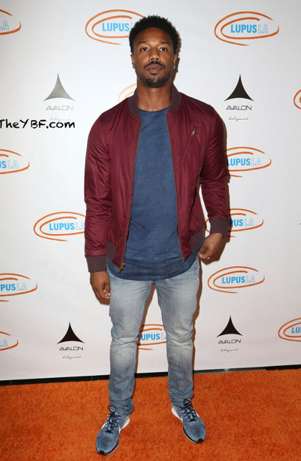7f10b8390d66 Michael B. Jordan in the Nike Flyknit Racer