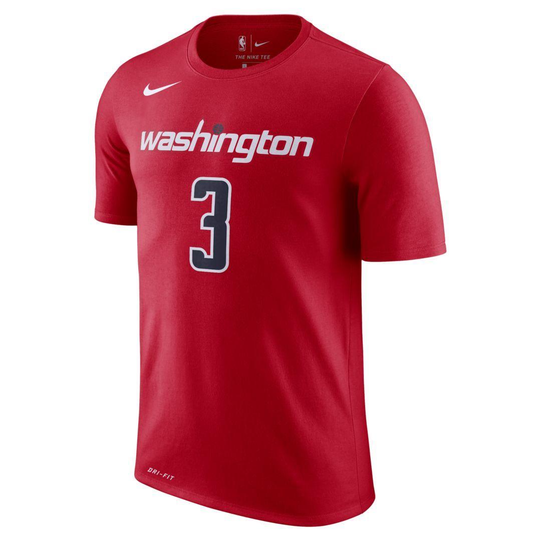 newest 3b829 b8476 Bradley Beal Washington Wizards Nike Dri-FIT Men's NBA T ...